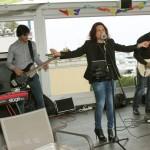 le groupe musiciens MERRY MOOD, bénévoles pour la soirée anniversaire de Happy hand