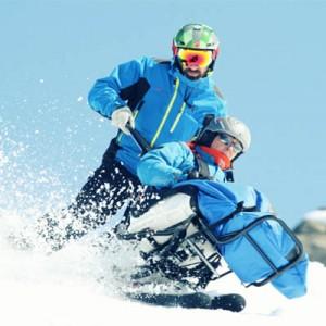 tendem et joie du ski