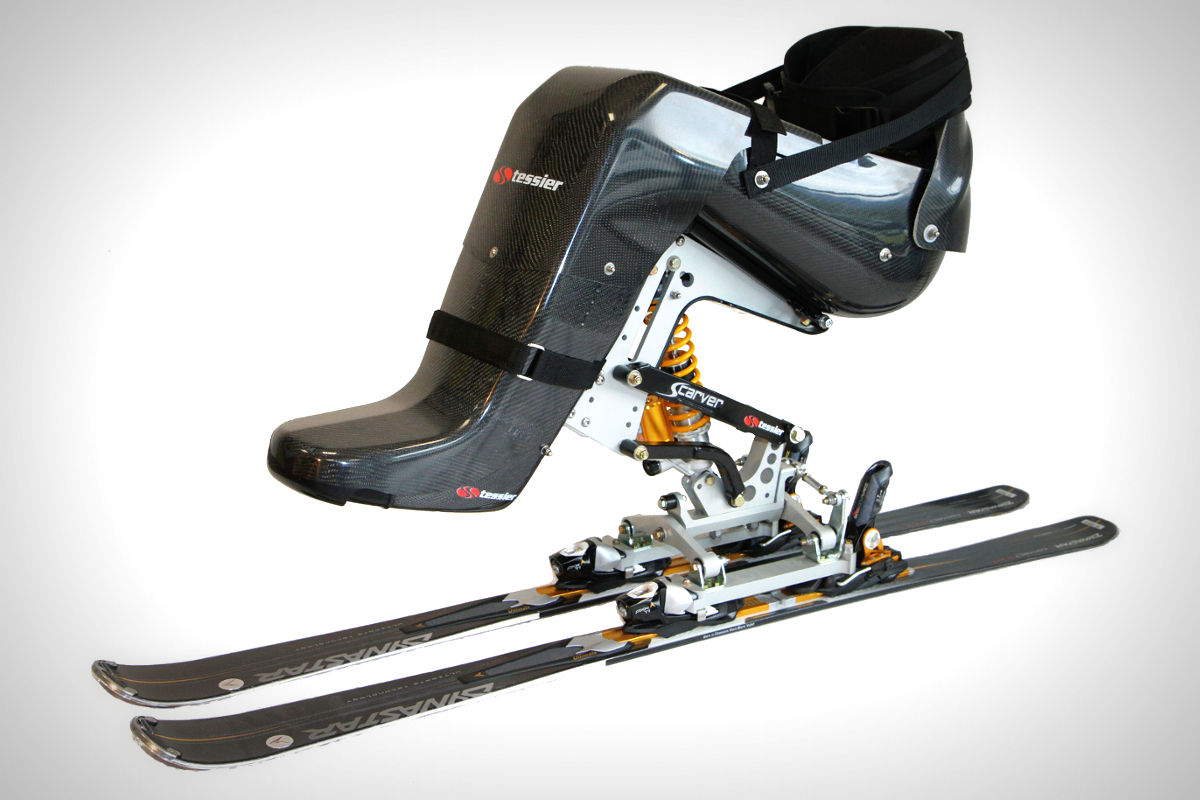 ski et handicap avec dualski