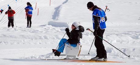 handiski et la luge nordique le ski de fond pour handicapés