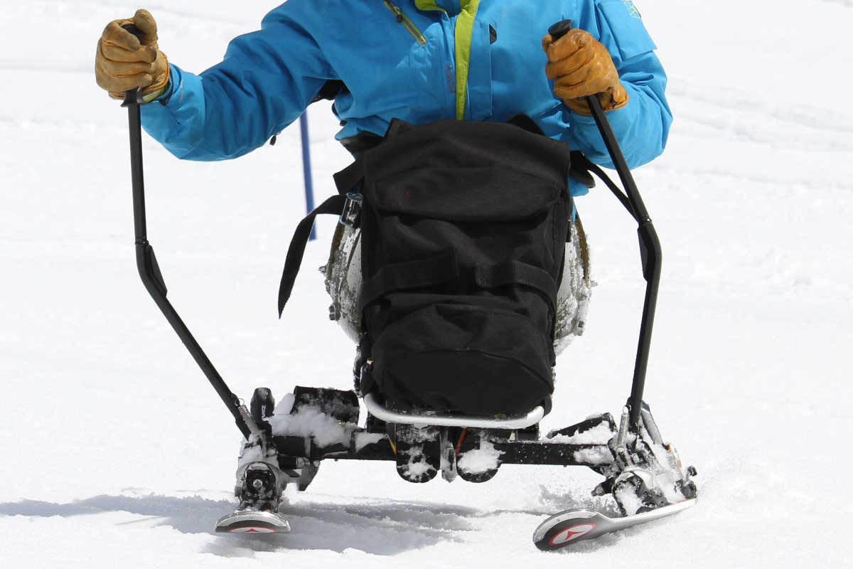 handiski et la stabilité avec le ski kart