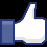 icone facebook pour aimer la page facebook de l'association Happy Hand
