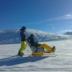 sport de glisse en tandemski