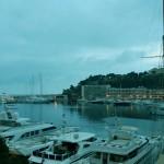 Vue sur le Port de Monaco depuis le Miramar