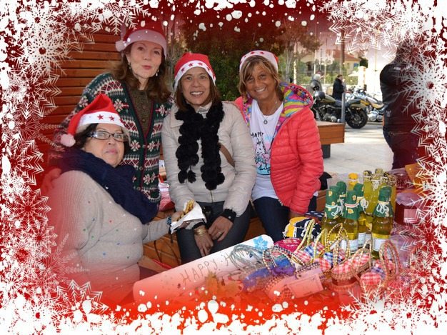 Equipe Happy Hand au Noel solidaire